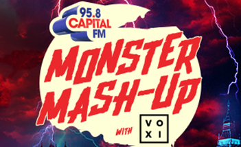Capital's Monster Mash-Up with VOXI