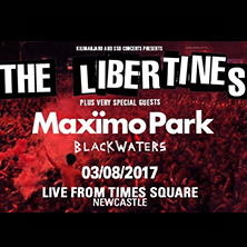 The Libertines + Maximo Park